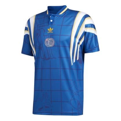 ADIDAS TEXIERA JERSEY - BLUE GOLD WHITE