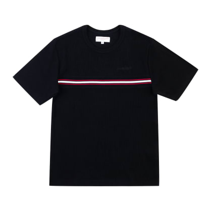 Yardsale Ribbed T-Shirt - Black