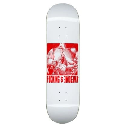 Fucking Awesome Berle Blood Baby Skateboard Deck 8.5""