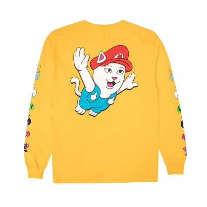 Rip N Dip - Rip N Dip Nermio Long Sleeve T-Shirt | Gold