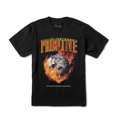 PRIMITIVE Global Threat Tee Black