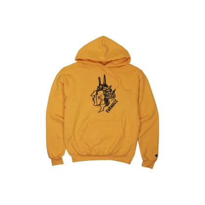 Furnace - Gonz For Furnace Hoodie - Gold/Black Puff
