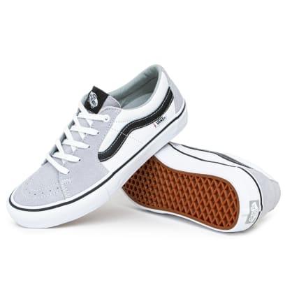 Vans Sk8 Low Pro Shoes - Mirage/White