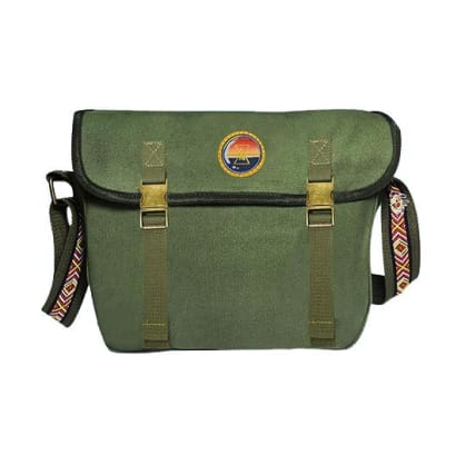 The BumBag Co - Riley Hawk Shoulder Bag - Military Green
