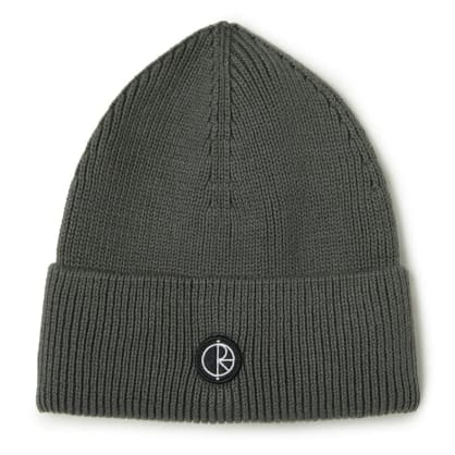 Polar Skate Co. Dry Cotton Beanie Graphite Grey