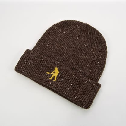 Pass Port Skateboards - Workers Beanie - Chocolate