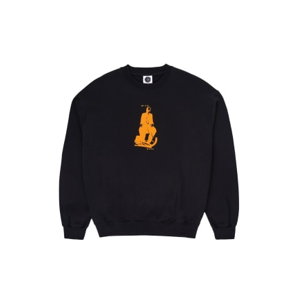 Polar Skate Co Brain Blower Crewneck - Black