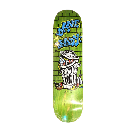 Polar Skate Co Dane Brady Trash Can Deck - 7.875""