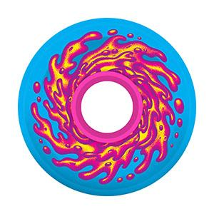 Santa Cruz Slime Balls 60mm 78A Wheels (Blue / Pink)