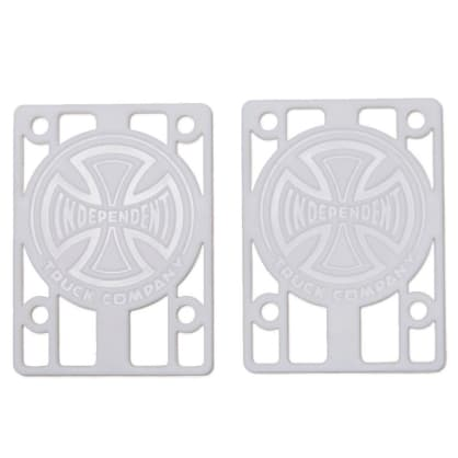 """Independent Genuine Parts Risers 1/8"""" (White) Set(2)"""