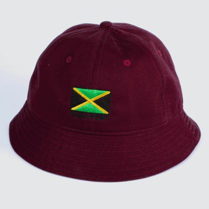 Passport Skateboards - Jamaica Twill Bucket Hat (Maroon)