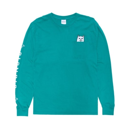 RipnDip Lord Nermal Pocket Tee Long Sleeve