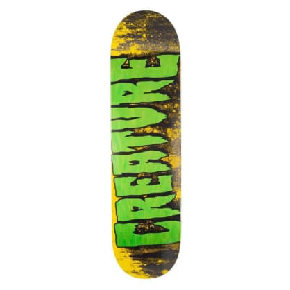 Creature Skateboards Logo Wash MD Skateboard Deck - 8.25