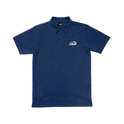LAKAI ORIGINAL LOGO POLO - NAVY