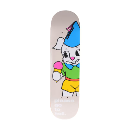 Quasi Go To Hell Creme Skateboard Deck - 8.5""