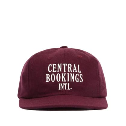 Central Booking Intl. Courthouse Logo Hat - Burgundy