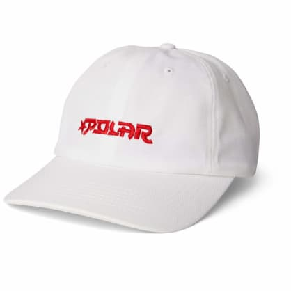 Polar Skate Co Star Cap - White