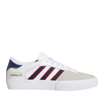 adidas Skateboarding Matchbreak Super Shoes - Cloud White / Collegiate Navy / Scarlet
