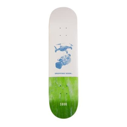 """Sour Solution Dropping Soon Skateboard Deck - 8.25"""""""