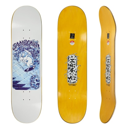 Polar Skate Co Shin Sanbongi Skate Rabbit Skateboard Deck - 8.25""