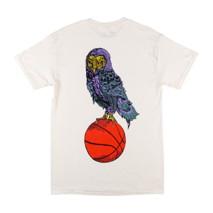 Welcome Skateboards Hooter Shooter T-Shirt - Bone