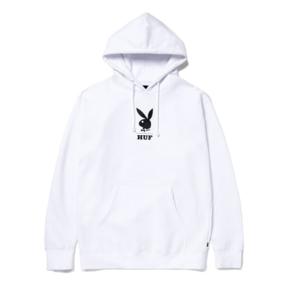 HUF x Playboy May 88 Cover Pullover Hoodie - White