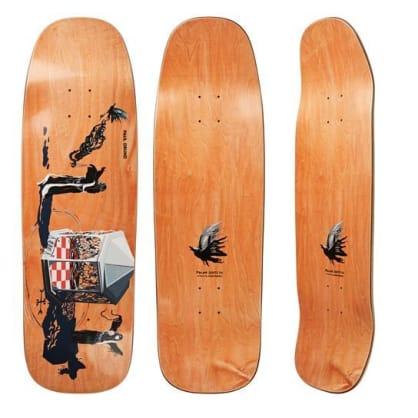"Polar Skate Co ""Rituals - Paul Grund"" shaped Skateboard Deck 1990 9.5"""