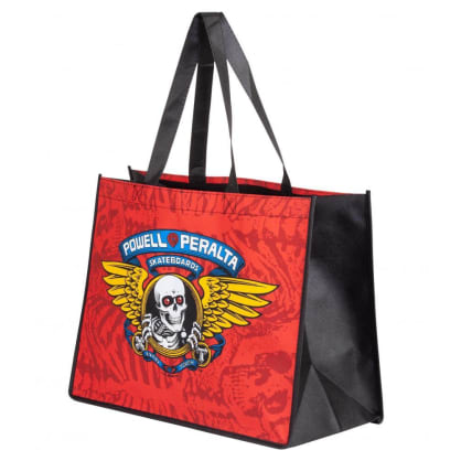 Powell Peralta Winged Ripper shopping bag