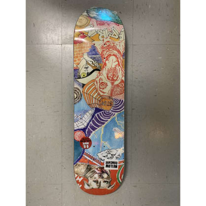 Baker Skateboards Riley Hawk Thoughts Deck 8.25