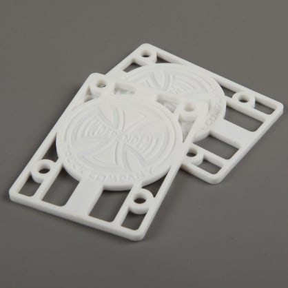 "Independent 1/8"" Riser Pads (White)"
