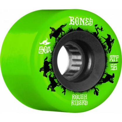 Bones Rough Riders Wranglers ATF 56mm 80A 4Pack (Green)