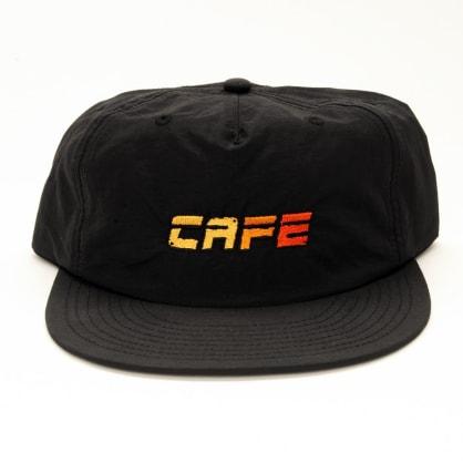 Skateboard Cafe Racer Surf Cap - Black