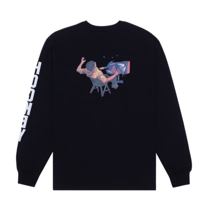 Hockey Ultraviolence Long Sleeve T-Shirt - Black