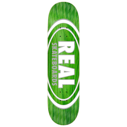 "Real - Oval Pearl Patterns Deck 8.25"" Slick"