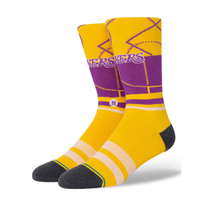 STANCE LAKERS GRADIENT - YELLOW