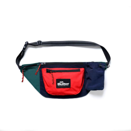 Butter Goods Santosuosso Utility Bag - Navy / Red / Green