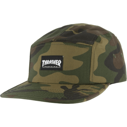 Thrasher - 5 Panel Cap - Camouflage