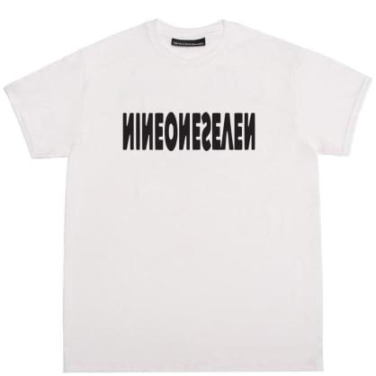 Call Me 917 Cyber Logotype T-Shirt - White