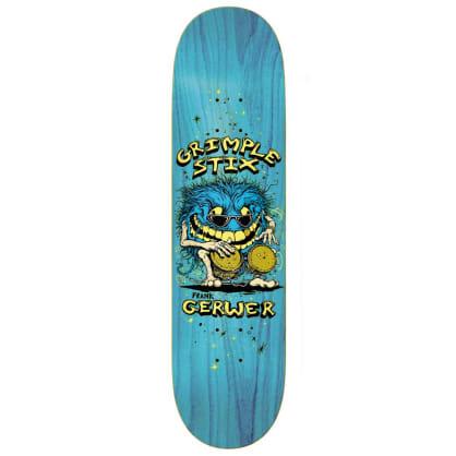 "Antihero Skateboards - Gerwer Grimple Stix Family Band Deck 8.38"" wide"