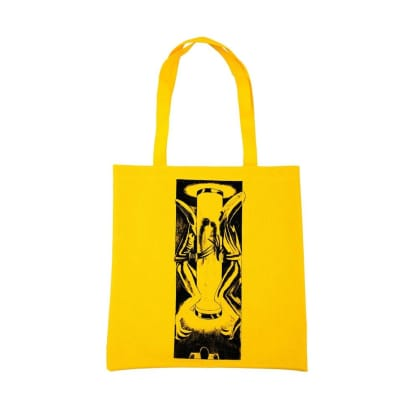 WKND Test Tube Recycled Tote Bag - Yellow
