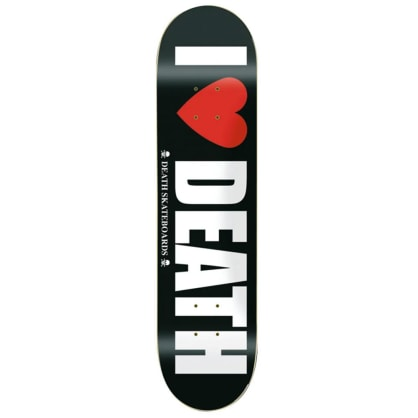 "Death Skateboards - I Heart Death Deck 8.125"" Wide"