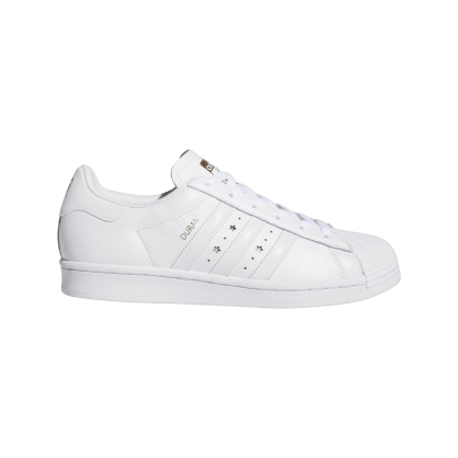 adidas Superstar ADV x Duran Skate Shoe (US SIZES) - Cloud White / Cloud White / Cloud White