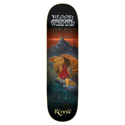 "Blood Wizard - Rennie Gryphon Warrior Deck (8.5"")"