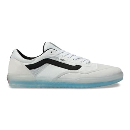 Vans AVE Pro Skateboard Shoes - White/Black