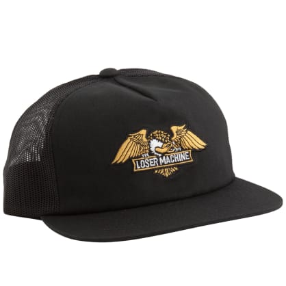 Loser Machine Wings Trucker Cap | Black