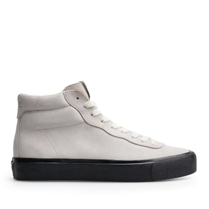 Last Resort AB VM001 Suede Hi Skate Shoes - White / Black