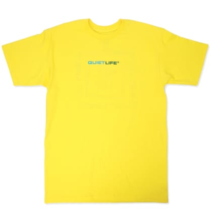 Quiet Life Rotating Square T-Shirt Yellow