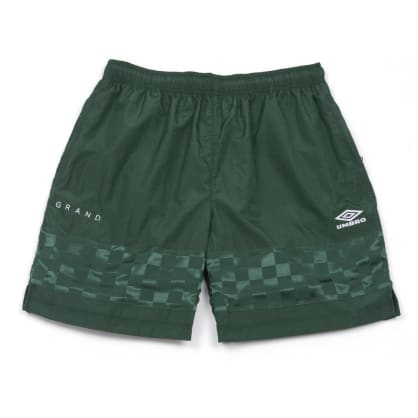 Grand Collection x Umbro Shorts - Forest Green