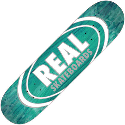 "Real Oval Patterns Team series deck (7.75"")"