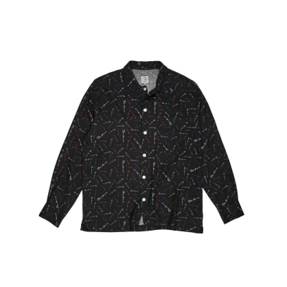 Polar Skate Co Art Shirt Mini Signature - Black